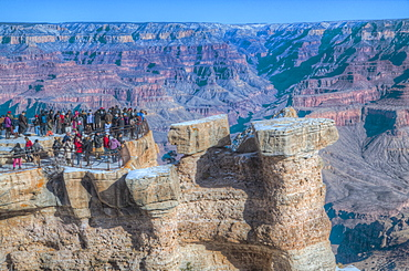 From Mather Point, South Rim, Grand Canyon National Park, UNESCO World Heritage Site, Arizona, United States of America, North America