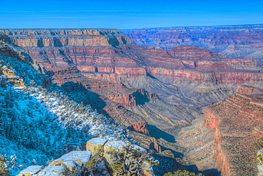 From Grandview Point, South Rim, Grand Canyon National Park, UNESCO World Heritage Site, Arizona, United States of America, North America