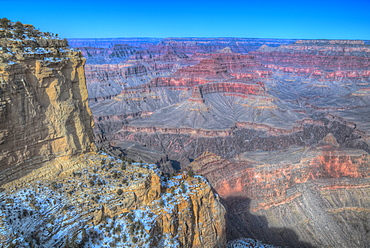 From Maricopa Point, South Rim, Grand Canyon National Park, UNESCO World Heritage Site, Arizona, United States of America, North America