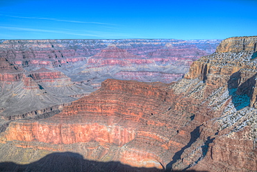 From Monument Creek Vista, South Rim, Grand Canyon National Park, UNESCO World Heritage Site, Arizona, United States of America, North America