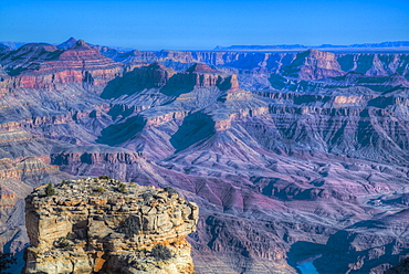 From Turnout near Lipan Point, South Rim, Grand Canyon National Park, UNESCO World Heritage Site, Arizona, United States of America, North America