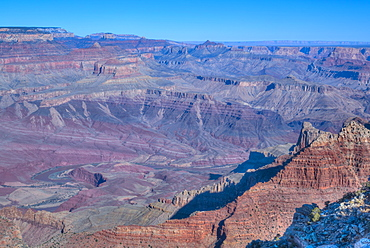 From Lipan Point, South Rim, Grand Canyon National Park, UNESCO World Heritage Site, Arizona, United States of America, North America