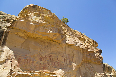 Sego Canyon Pictograph Panel, Sego Canyon, near Thompson, Utah, United States of America, North America