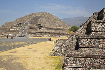 Pyramid of the Moon, Teotihuacan Archaeological Zone, UNESCO World Heritage Site, State of Mexico, Mexico, North America