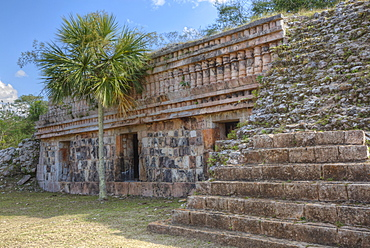 Mayan Ruins, Cabapak Group, Puuc Style, Chacmultun Archaeological Zone, Chacmultan, Yucatan, Mexico, North America