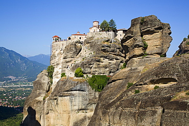 Holy Monastery of Varlaam, Meteora, UNESCO World Heritage Site, Thessaly, Greece, Europe