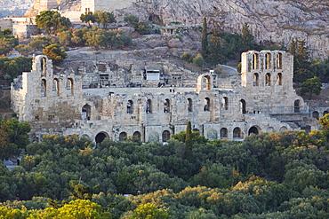 Herodes Atticus Theatre, Acropolis, UNESCO World Heritage Site, Athens, Greece, Europe