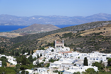 Church of Agia Triada (Holy Trinity), Lefkes Village, Paros Island, Cyclades Group, Greek Islands, Greece, Europe