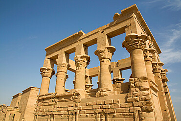 Kiosk of Trajan, Temple of Isis, UNESCO World Heritage Site, Philae Island, Aswan, Nubia, Egypt, North Africa, Africa