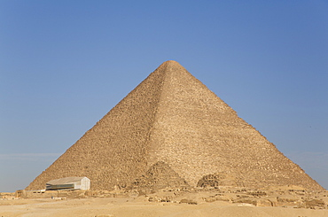 Great Pyramid of Cheops (Khufu), Great Pyramids of Giza, UNESCO World Heritage Site, Giza, Egypt, North Africa, Africa