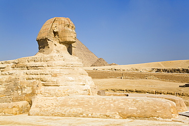 The Great Sphinx of Giza, UNESCO World Heritage Site, Giza, Egypt, North Africa, Africa
