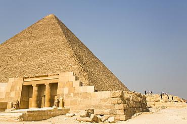 Tomb (Mastaba) of Seshem Nefer Theti, Great Pyramids of Giza, UNESCO World Heritage Site, Giza, Egypt, North Africa, Africa