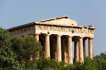 Temple of Hephaestus, Ancient Agora, Athens, Greece