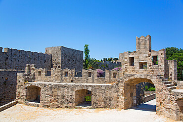 Gate of St. Paul, Rhodes Old Town, UNESCO World Heritage Site, Rhodes, Dodecanese Island Group, Greek Islands, Greece, Europe