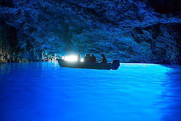 Blue Cave, Kastellorizo (Megisti) Island, Dodecanese Group, Greek Islands, Greece, Europe