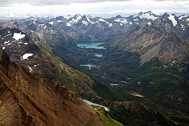 Mountain landscape, Martial Alps, Tierra del Fuego, Argentina, South America