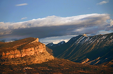 Mountain landscape, Spanish Pyrenees, Spain, Europe