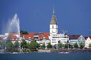 Friedrichshafen and Lake Konstanz (Laek Constance) (Bodensee), Baden-Wurttemberg, Germany, Europe
