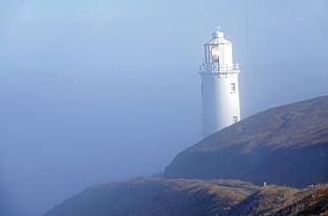 Lighthouse at Trevose Head, North Cornwall, England, United Kingdom, Europe
