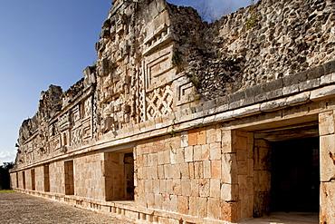Nunnery Quadrangle, Uxmal, UNESCO World Heritage Site, Yucatan, Mexico, North America - 804-429