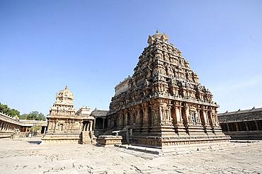 The 11th century Gangaikonda Cholapuram Brihadisvara temple dedicated to Shiva, UNESCO World Heritage Site, Ariyalur district, Tamil Nadu, India, Asia