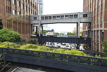 High Line public park, Meatpacking District, New York City, New York, United States of America, North America