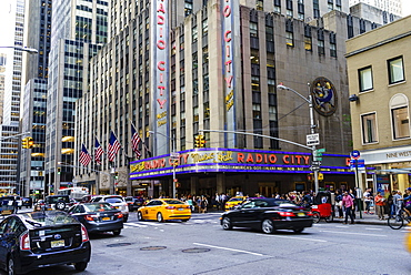 Radio City Music Hall, Rockefeller Center, Theatre District, Midtown, Manhattan, New York City, New York, United States of America, North America