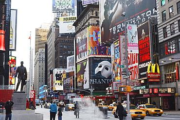 Times Square, Manhattan, New York City, New York, United States of America, North America