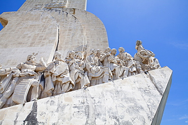 The Monument to the Discoveries by the Tagus River, Lisbon, Portugal, Europe