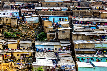 Slums in Abidjan, Ivory Coast, West Africa, Africa