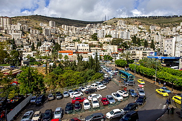 Nablus city centre, West Bank, Palestine, Middle East