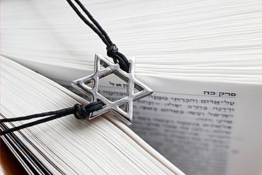 Torah and Star of David, two symbols of Judaism, Vietnam, Southeast Asia, Asia