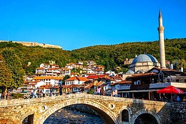 Stone bridge, Prizren, Kosovo, Europe