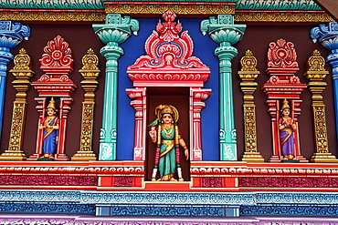 Hindu deities, Hindu Temple and Shrine of Batu Caves, Kuala Lumpur, Malaysia, Southeast Asia, Asia