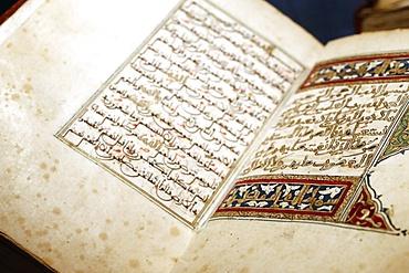 Quran, North Africa, 19th century, Islamic Arts Museum, Kuala Lumpur, Malaysia, Southeast Asia, Asia