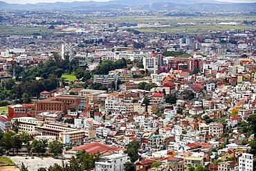 Panorama of Antananarivo city, Antananarivo, Madagascar, Africa