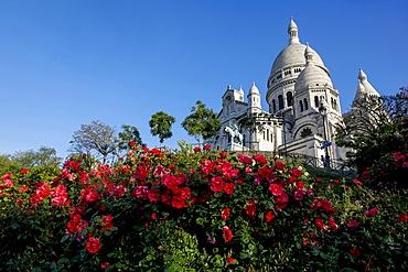 The Sacred Heart (Sacre Coeur) Basilica, Montmartre, Paris, France, Europe