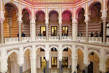 Rebuilt City Hall and National Library, Sarajevo, Bosnia and Herzegovina, Europe