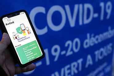 French digital application to fight against Covid-19, France, Europe
