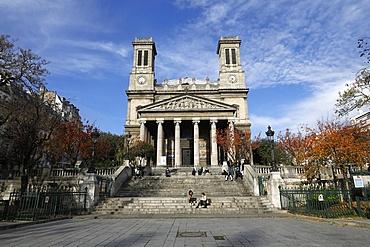 Saint Vincent de Paul Church, Paris, France, Europe