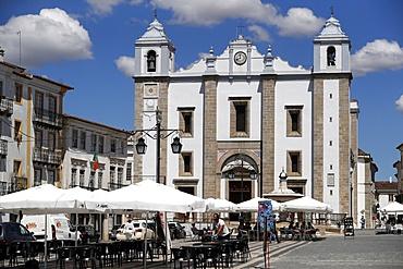 John the Baptist Church, Evora, Alentejo, Portugal, Europe