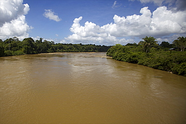The Approuague River, French Guiana, South America