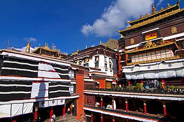 Tashilumpo monastery, Shigatse, Tibet Autonomous Region, China, Asia