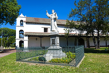 Monastery on Plaza de las Tres Cultures, Santa Fe, capital of the province of Santa Fe, Argentina, South America