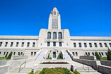 Nebraska State Capitol, Lincoln, Nebraska, United States of America, North America