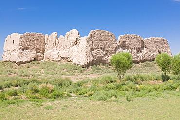 Toprak Qala, old fortress, Karakalpakstan, Uzbekistan, Central Asia