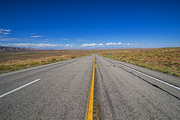 Road leading through the Grand Staircase Escalante National Monument, Utah, United States of America, North America