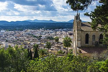 Parish church of Transfiguracio del Senyor, Arta, Mallorca, Balearic Islands, Spain, Europe