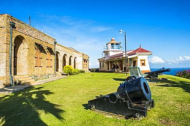 Fort King George, Scarborough, Tobago, Trinidad and Tobago, West Indies, Caribbean, Central America