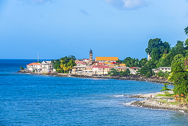 The town of Gouyave, Grenada, Windward Islands, West Indies, Caribbean, Central America